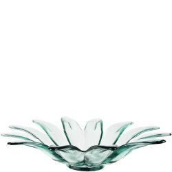 Large Daisy Recycled Glass Bowl
